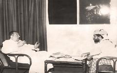 لقاء صحفي  - اليمن - 14 نيسان 1988