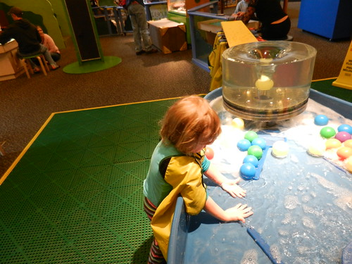 Melanie LOVED the water table! | by lifeslittlepuzzle