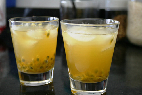 Passion fruit caipirinha | by eltpics