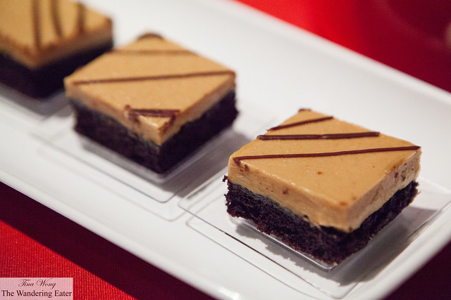Chocolate cake with peanut butter frosting by Pinch