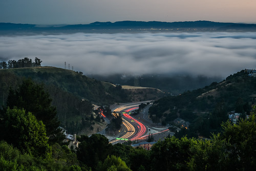 california sunset motion color silhouette june fog oakland evening spring nikon highway marine view traffic over bayarea layer 24 eastbay curve alamedacounty 2016 lightstream boury pbo31 d810 hillerhighlands