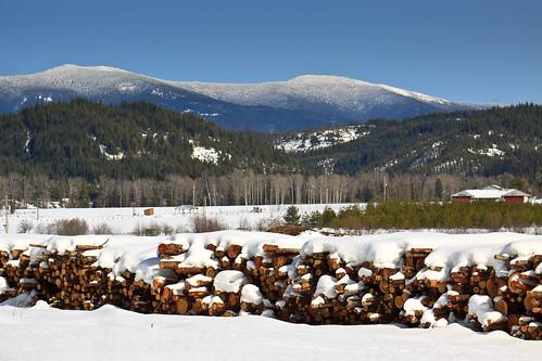 snow mountains idaho stjoenationalforest idahopanhandlenationalforests