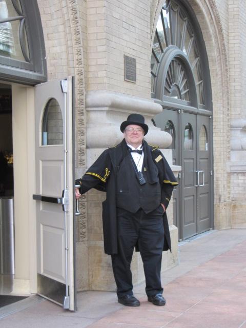 Doorman at the Opera