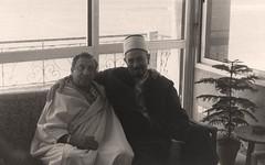 زيارة شخصية  - منزله في الهرهورة - المغرب - 1982