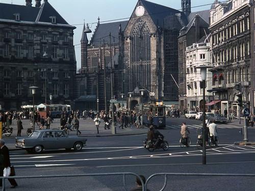 GVB Amsterdam 432+825, EXCURSIE, Dam (1966)
