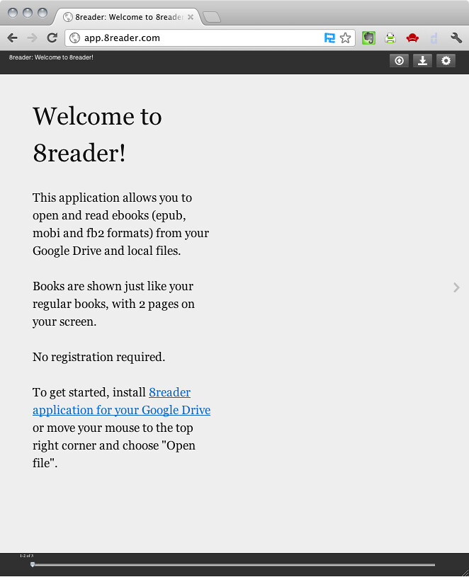 Chrome - Welcome to 8reader | Nicola D'Agostino | Flickr