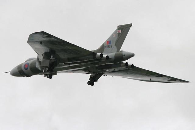 G-VLCN XH558 RIAT Fairford 20 July 2009