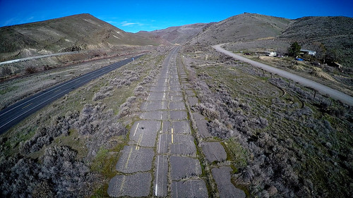 road abandoned photo washington video state canyon aerial hwy route eastern yakima 97 182 gopro multicopter