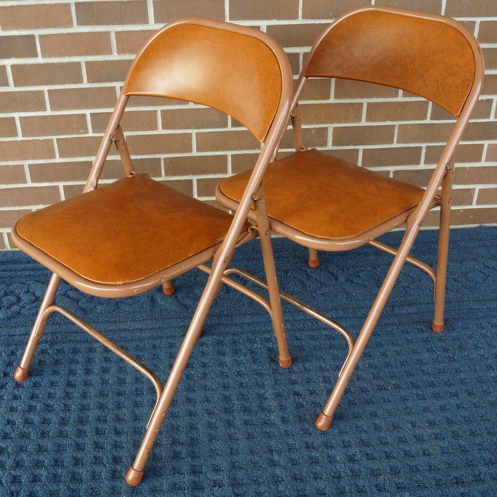 Prime Rd9582 2 Vintage Samson Folding Chairs Shwayder Bros Samso Cjindustries Chair Design For Home Cjindustriesco