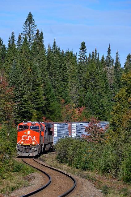 CN 369 approaching an s-curve
