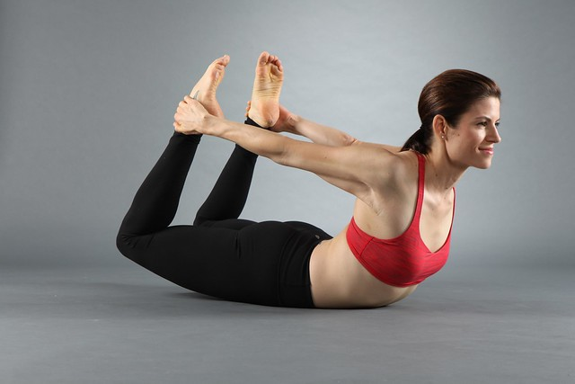 Bow-yoga-pose-