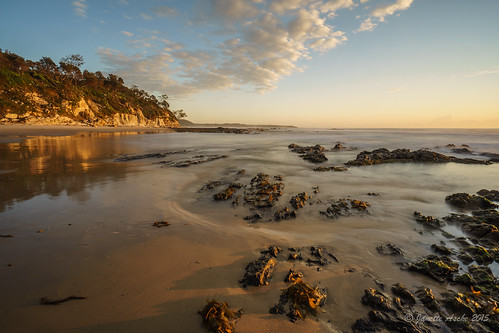 ocean longexposure sea beach clouds sunrise coast rocks waves australia coastal le nsw newsouthwales nd6 2015 yuraygirnationalpark diggerscamp sonya7r