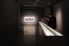 people looking at Walls by Joself Koudelka