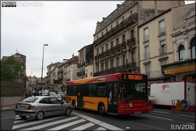 Heuliez Bus GX 117 L - Transdev Urbain / Béziers Méditerranée Transports n°722