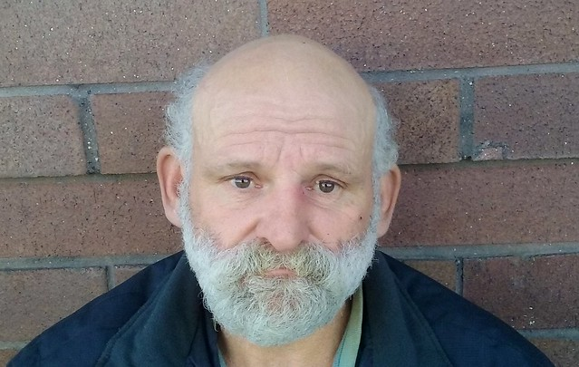 Richard is a 53-years-old homeless man, he has been homeless since 2009