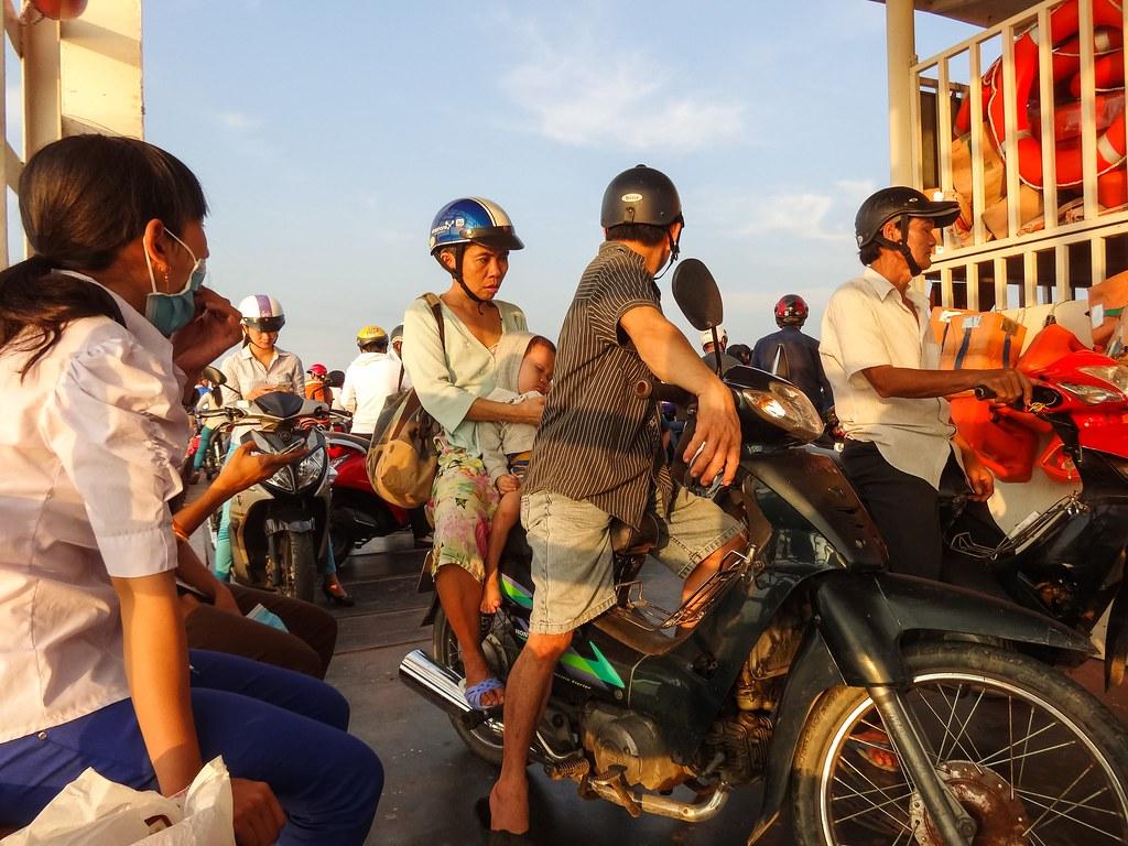 Motorbike baby