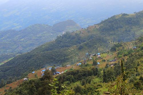 leblu montagnes nepal préci salyan solukhumbu village