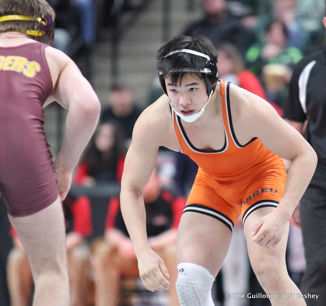 152AAA - 5th Place Match - Tanner Wiese (Forest Lake) 36-9 won by decision over Nicholas Carline (Osseo) 8-4 (Dec 4-3)