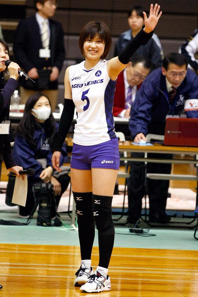 服部安佑香@V-チャレンジリーグ 11-12 北本大会   Volleyball ...