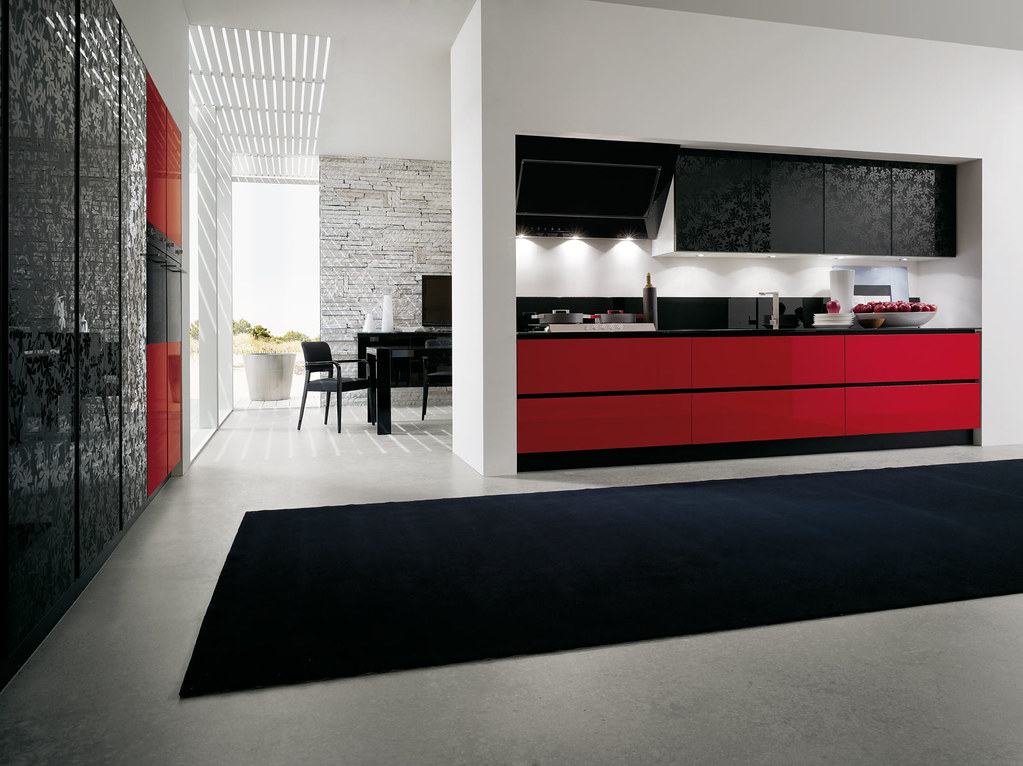 Cucine Mobili Da Cucina.Mobili Da Cucina Laccato Rosso Gicinque Cucine Cucina Mo