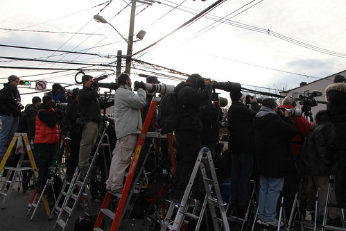 Reporting on Whitney Houston funeral | by Explorations Media, LLC