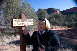 Hobbies: Susan Hiking at Deadman's Trail | by sfusswork