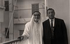 مع الأستاذ محمد عمر الداعور - بيروت - 22 آب 1971
