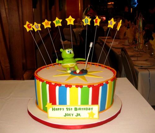 Astonishing Gummy Bear Birthday Cake A Photo On Flickriver Funny Birthday Cards Online Benoljebrpdamsfinfo