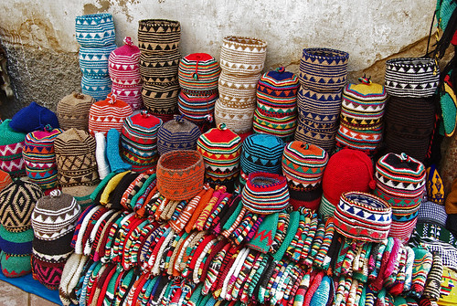 knitted hats, Morocco | by JTPhotographics