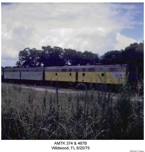 railroad train diesel florida railway trains amtrak locomotive trainengine wildwood booster e9 coveredwagon e8 emd bunit eunit amtk sixaxle boosterunit e9b e8b cabunit cablessbooster