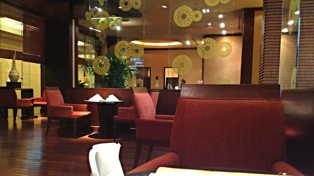 Breakfast in the Business Lounge, Novotel Suvarnabhumi Air