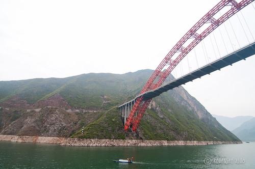 Bridge over Wu Gorge | by RunawayJuno