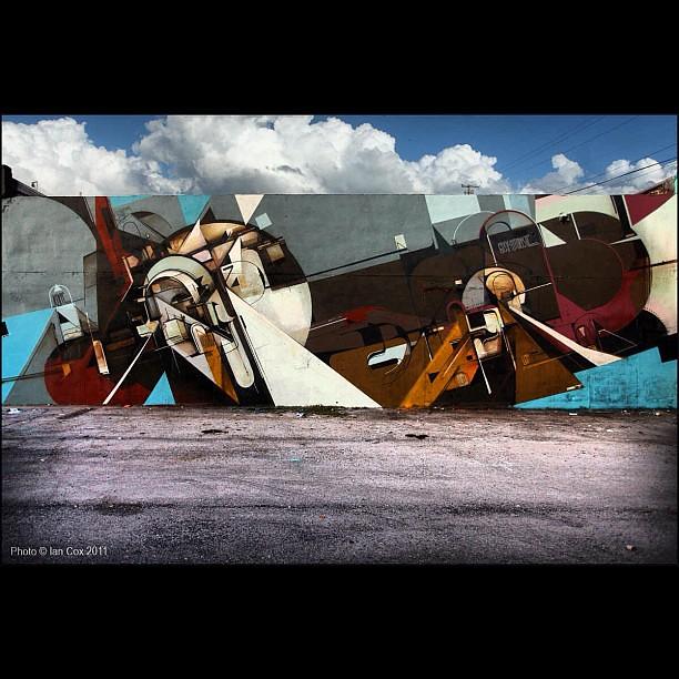 Loved this wall by Augustine Kofie in Wynwood Miami #wallkandy #wynwood #miami #streetart #graffiti @montana @keepdrafting
