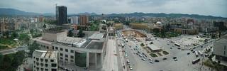 Tirana panorama