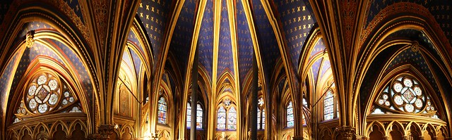 Sainte Chapelle - capilla baja - 1
