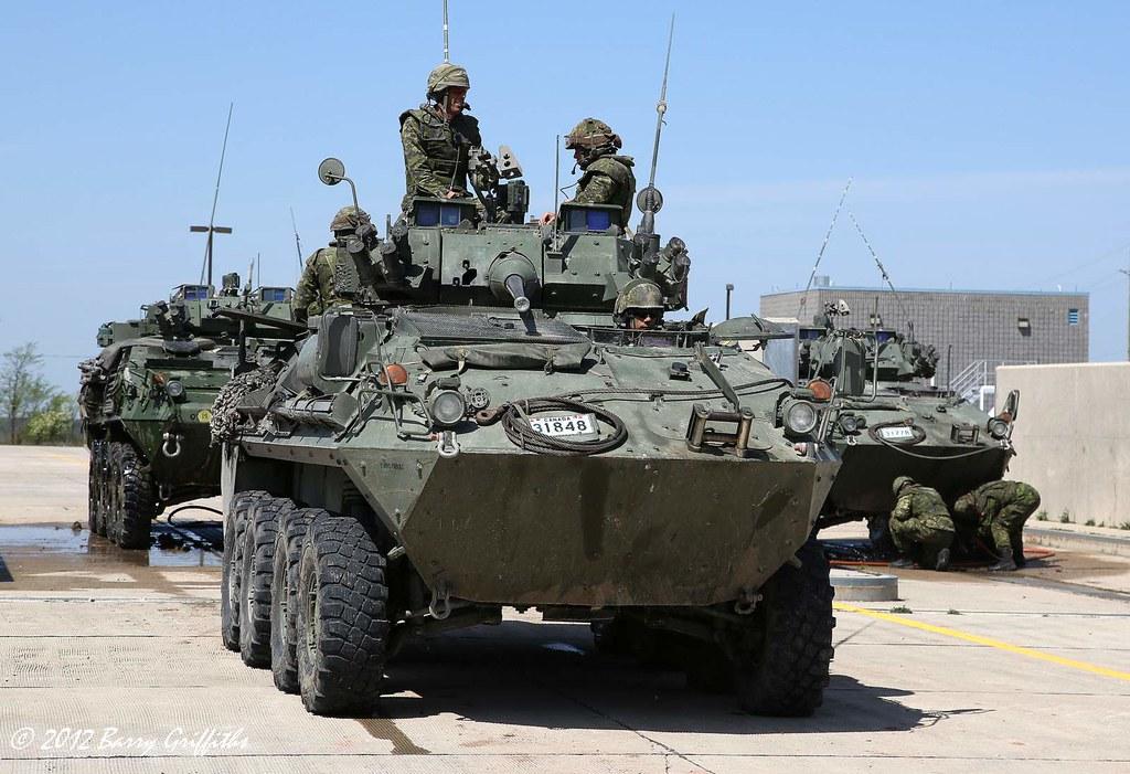 ARV Coyotes & LAV III Kodiak, Royal Canadian Dragoons (Arm
