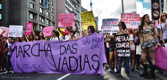 SlutWalk / Marcha das Vadias - São Paulo-SP - Brasil