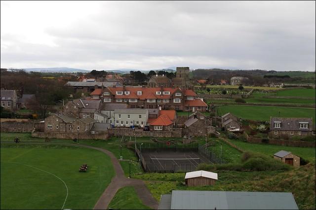Bamburgh village