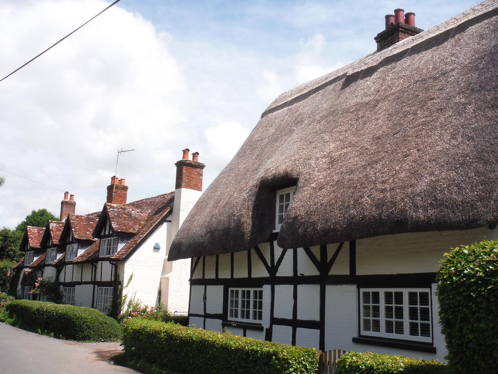 Jessam Cottage, West Tytherley SWC Walk 265 - Dean to Mottisfont & Dunbridge