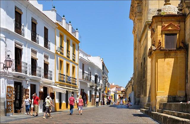 Córdoba : Calle Cardenal Herrero