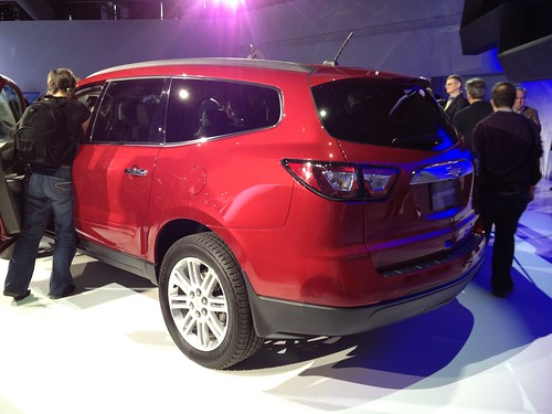 2013 Chevrolet Traverse at the 2012 New York International Auto Show Photo