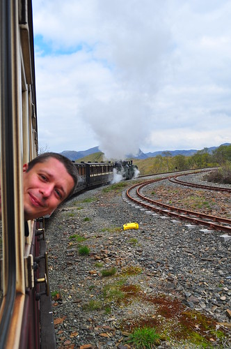 """I'm on a Train!"" | by Christopher Owen Jones"