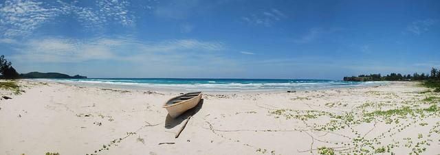 Deserted Beach, Borneo