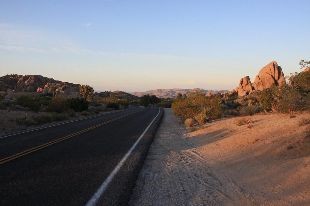 Empty Road - Joshua Tree National Park