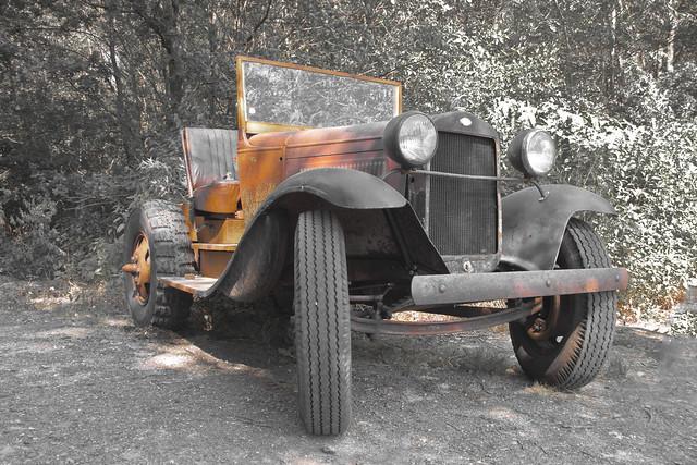 Doodlebug tractor (9652)
