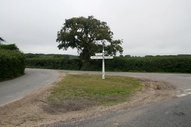 Junction near Sowley