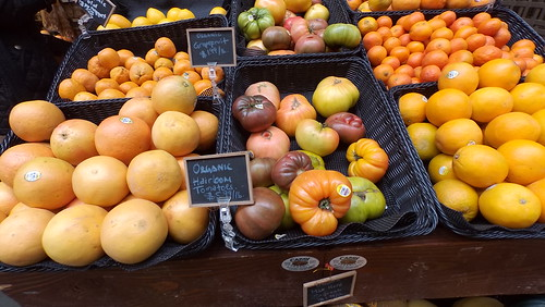 Ferry Buildiing Market Fruit | by Ted Drake