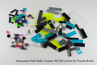 Set Review for Friends Bricks: 41130 Roller Coaster-16 | by fujiia.reviews