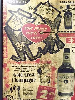 Binny's (before it was Binny's- it was Gold Standard Liquors) Newspaper Ad