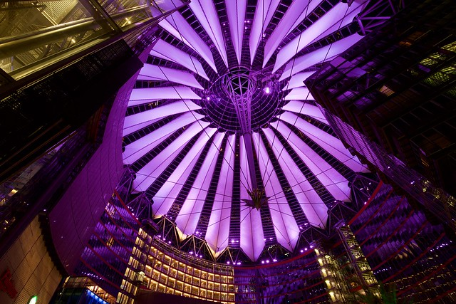 Sony Center, Potsdamer Platz